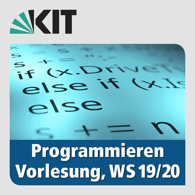 Programmieren, WS19/20, Vorlesung