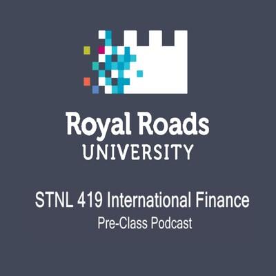 STNL 419 : International Finance