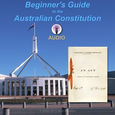 Australian Constitution AUDIO