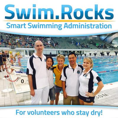 Swim dot Rocks