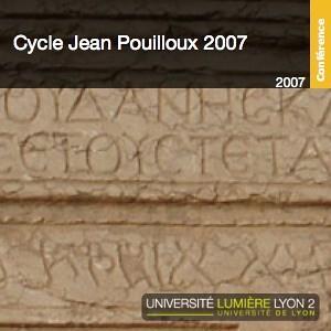 Cycle Jean-Pouilloux 2007