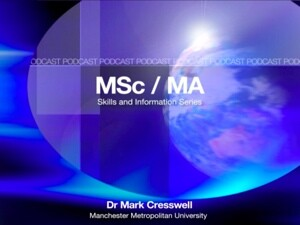 MSc and MA Skills