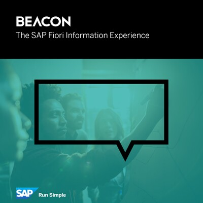 Beacon, the SAP Fiori Information Experience