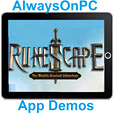 Runescape on iPad, iPhone-AlwaysOnPC App Tips and tricks for mobile Runescape users