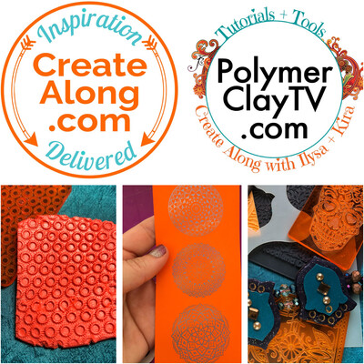 CreateAlong with PolymerClayTV