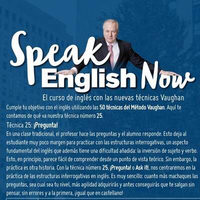 Speak English Now By Vaughan