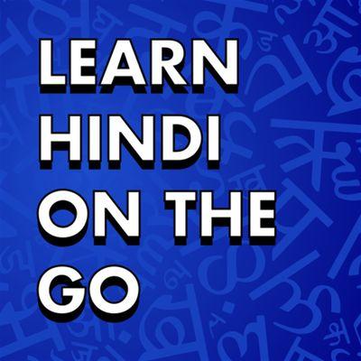 Learn Hindi On The Go